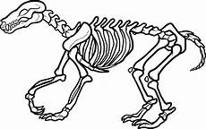 free printable skeleton coloring pages for
