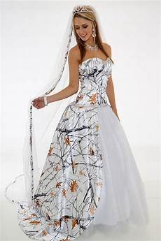 Camouflage Wedding Gown