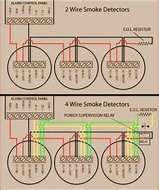 hardwired smoke detectors system sensor alarm wiring smoke alarms emergency lighting diagram