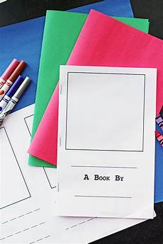 make your own book for kids free printable sunny day family