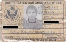 veteran id card template photos of 13 signs you grew up in a family thechive