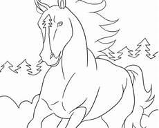 ausmalbilder mit pferden kostenlos