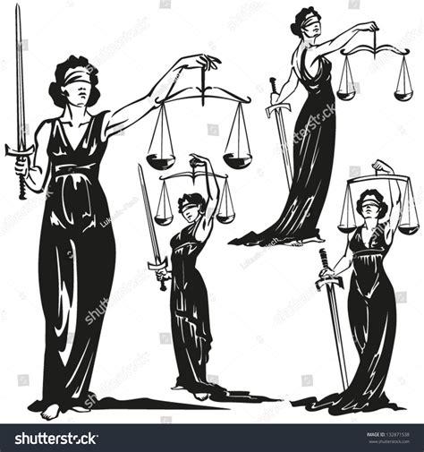 Clip Art Lady Justice
