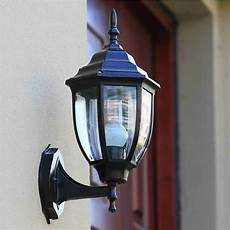 outdoor sconce wall lantern outside light security black bronze exterior l ebay