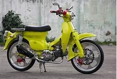 Modifikasi Honda 70 by Koleksi Modifikasi Honda 70 Klasik Terbaik