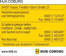 Huk Coburg Schaden Melden In Kassel In Das 214 Rtliche