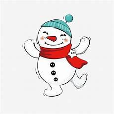 clipart inverno schneemann der schneemann im winter png