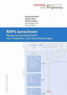 pdf mips berechnen ressourcenproduktivit 228 t