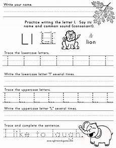 printable worksheets for letter l 24565 the letter l letter l worksheets spelling worksheets letter l