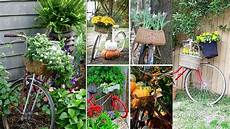 bicycle planter ideas bike flower garden decoration