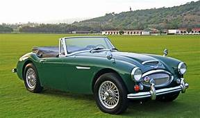 9 1966 Austin Healey 3000 MKIII  Dad Let Me Drive Her On