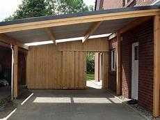 Carport Für 3 Stellplätze - galerie carport an einem doppelhaus zimmerei zeller gmbh