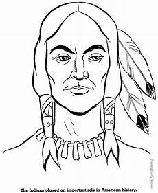 Gratis Malvorlagen Indianer Free Printable Coloring Pages For Adults American