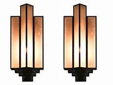 pair of large art deco sconces um i love these lighting chandeliers art deco lighting