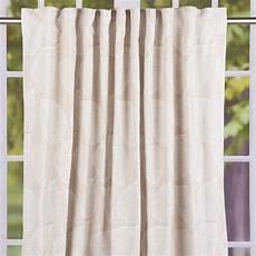 gardinen beige schal vorhang fertiggardine jacquard mit schlaufenband