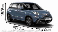 Fiat 500l Cross 2017 Dimensions Boot Space And Interior