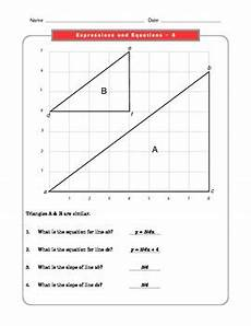 grade 8 common core math worksheets expressions and