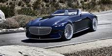 Mercedes Maybach Vision 6 Cabriolet Revealed Photos