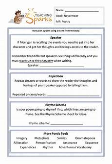 teaching poetry ks2 ideas 25488 nevermoor teaching ideas ks2 literacy resources ks2 worksheets