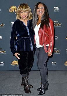 Tina Turner 78 Dazzles In Blue Velvet At Photo Call For