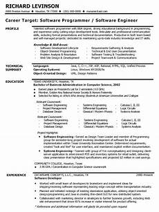software developer resume software developer resume sle bo1nhgsl cv templates engineering