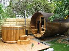log burning tub 2 meter thermally modified wood