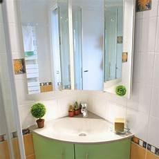 meuble de salle de bain d angle avec vasque meuble de salle de bain angle et galb 233 atlantic bain