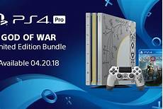 sony reveals limited edition ps4 pro god of war bundle