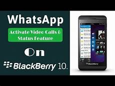 how to get video calling status feature whatsapp for