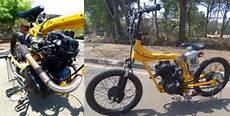 Modifikasi Motor Jadi Mobil by Modifikasi Unik Honda Cb Til Layaknya Bmx Honda Cb