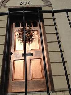 burnished door copper and black paint exterior colors home garden exterior paint