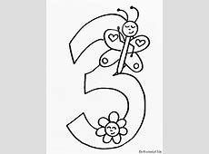 Pin van Marge op hold   Verjaardag cijfers, Kleurplaten en