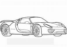 Malvorlagen Auto Porsche Ausmalbilder Autos Zum Ausdrucken Malvorlagentv