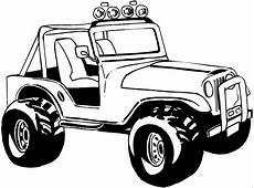 Bilder Zum Ausmalen Jeep Safariauto Grosse Reifen Ausmalbild Malvorlage Die