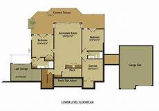 open floor house plans with walkout basement open living floor plan lake house design with walkout