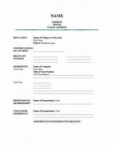 blank resume templates for students resume builderresume