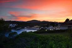 Gambar Laut Pantai Awan Langit Matahari Terbit
