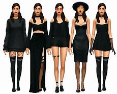 sims 4 maxis match finds can you do a dark gothic lookbook please if you