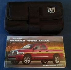 small engine service manuals 2007 dodge ram free book repair manuals find 2007 dodge ram truck owners manual with factory case oem motorcycle in paola kansas us