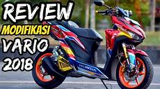 Modifikasi Lu Vario 150 by Review Modifikasi Vario 150 Monoshock Tengah Motor Juara