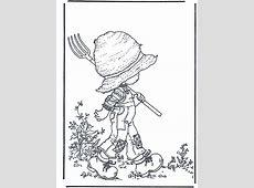Dessin de coloriage Jardin à imprimer   CP14723