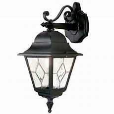 elstead norfolk outdoor hanging wall light lantern black broughtons lighting ironmongery