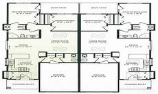 duplex house plans with garage one story duplex plans with garage modern house plan