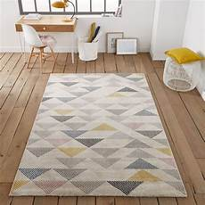 tapis triangles jursic multicolore la redoute interieurs