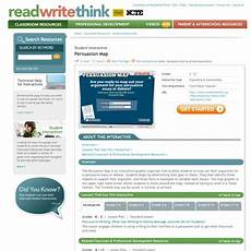 resume leson plan read write think persuasion map pearltrees