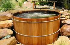 The Earthy Essence With Wooden Tubs