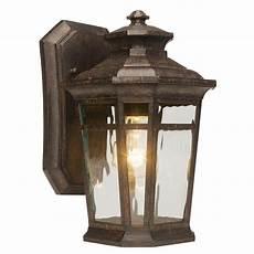 exterior wall lighting home depot home decorators collection waterton 1 light dark ridge