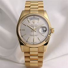 rolex day date 18k luxury watchcollectors co uk