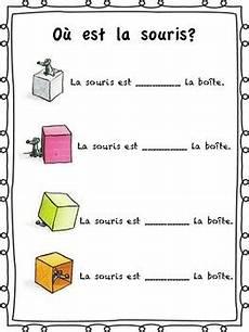 les prepositions de lieu free handout for core french or