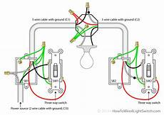 3 way switch power through light 3 way switch how to wire a light switch